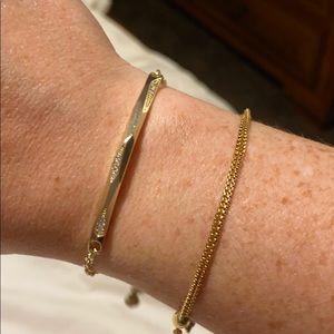 Kendra Scott Gold bracelet